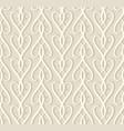 vintage beige ornamental seamless pattern vector image
