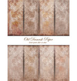 vintage damask pattern texture royal vector image vector image