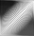 Circles abstract background asymmetric vector image