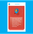 artificial intelligence mobile vertical banner vector image