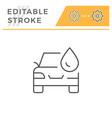 Car wash line icon
