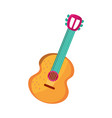 cinco de mayo guitar instrument vector image