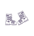 climbing boots isolated icon vector image vector image