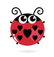 ladybug Love vector image vector image