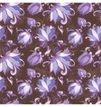 Lily Floral Pattern vector image vector image