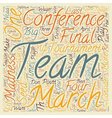 MARCH MADNESS You Can Bet on It text background vector image vector image