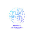 people psychology concept icon vector image