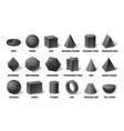 realistic 3d basic shapes sphere shape