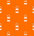 trash can with pedal pattern seamless vector image vector image