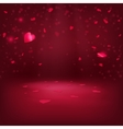 VAlentine Hearts Background 1 vector image vector image