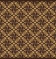 beautiful kawung batik floral pattern vector image vector image