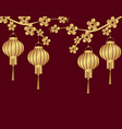 chinese new year stylized under the bronze vector image vector image