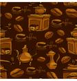 coffee handdraw seaml 4 380 vector image vector image