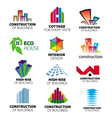 Collection of logos construction and home i vector | Price: 1 Credit (USD $1)
