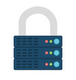 encrypted icon vector image vector image