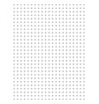full page centimeter dot paper vector image vector image