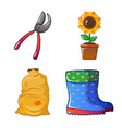 isolated object of farm and agriculture symbol vector image