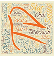 Movies Turned into TV Shows Good or Bad Idea text vector image vector image