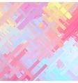 Pastel Color Glitch Background vector image vector image