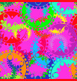 seamless texture of bright violet gears and vector image