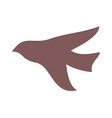 Shadow of bird vector image vector image