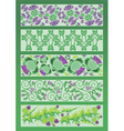 ornament decorative elements in Celtic style vector image