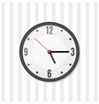Simple wall clock vector image