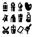 art tools icon vector image vector image