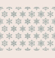 christmas new year seamless pattern green vector image vector image