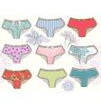 underwear vector image