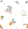 beautiful seamless pattern for children vector image vector image
