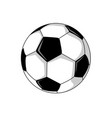 foot ball soccer vector image