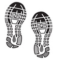 Footprint1 resize vector image vector image