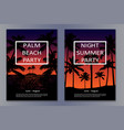 Tropic night posters