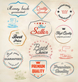 set of badge and labels 3 vector image