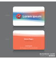 Business cards Name card Design Template vector image vector image