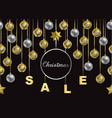 christmas sale winter holiday web banner vector image