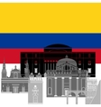 Columbia vector image vector image
