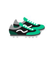 football shoes soccer vector image vector image