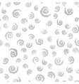 gray spiral pattern seamless vector image vector image