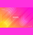 modern vibrant bright pink and yellow colorful vector image vector image