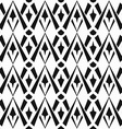 monochrome vintage seamless pattern vector image vector image