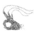 Musical OK Gestur vector image vector image