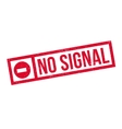 No Signal rubber stamp vector image vector image