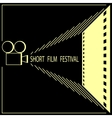 Short film festival cinema film festival poster