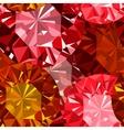 Gem seamless pattern Ruby seamless pattern vector image