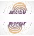 Abstract shape vector image vector image