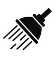air cleaning seat icon simple style vector image