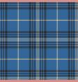 blue check plaid tartan seamless pattern vector image vector image