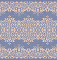 damask ornament linen seamless background vector image